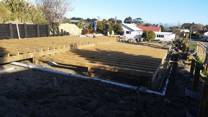 drain laying renovation 1
