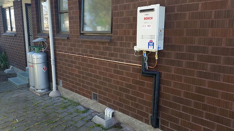 gas califont installation 1