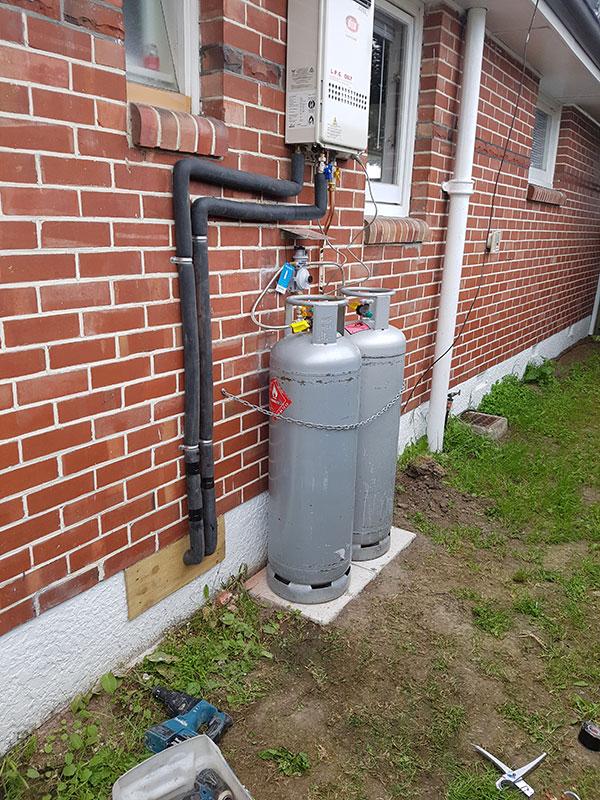 gas supply installtion 1